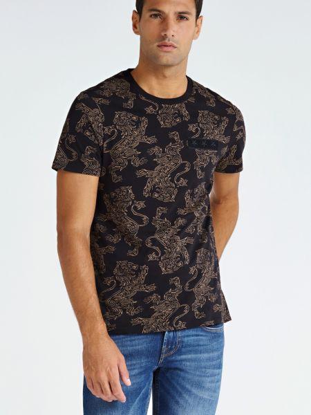 Imagen principal de producto de Camiseta Motivo Leones - Guess