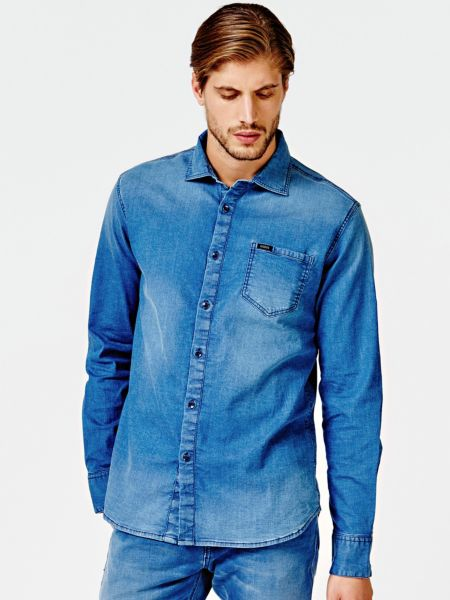 Imagen principal de producto de Camisa Clásica Vaquera - Guess