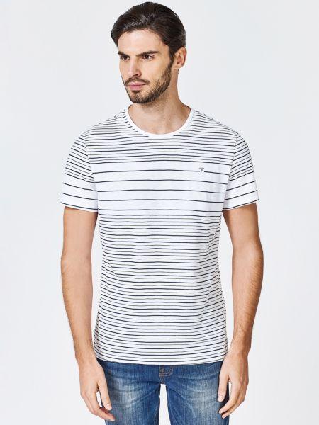 Imagen principal de producto de Camiseta Motivo A Rayas - Guess