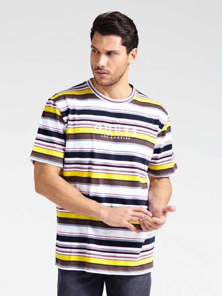 Imagen principal de producto de Camiseta Motivo De Rayas - Guess