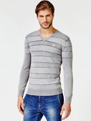 Maglione Motivo A Righe