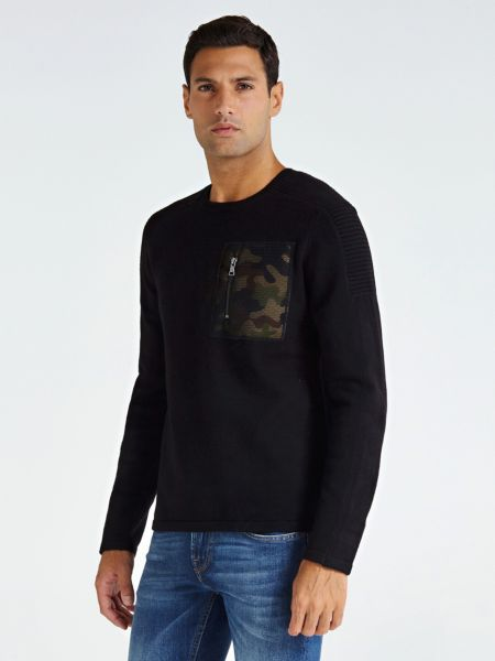 Imagen principal de producto de Suéter Bolsillo Camouflage - Guess