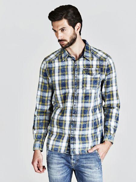 Guess - Camisa Motivo De Cuadros - 1