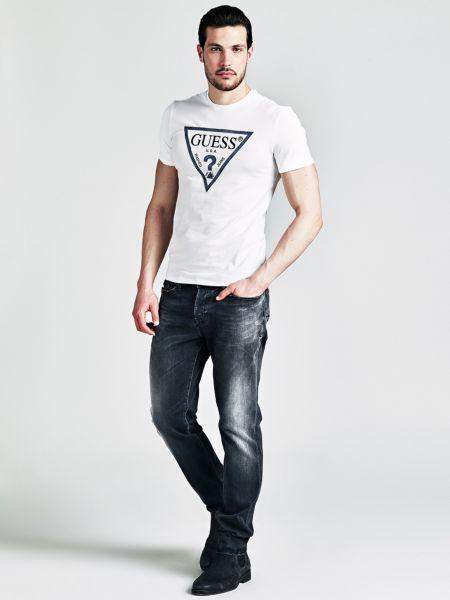 Guess - Camiseta Con Logo Triángulo Frontal - 2
