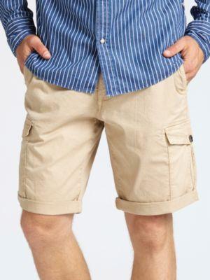 Shorts Cotone Tasche Laterali