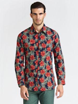 Camicia Classica Fiori