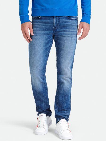 Jeans Used-Optik | Bekleidung > Jeans > Sonstige Jeans | Blau | Baumwolle - Denim | Guess
