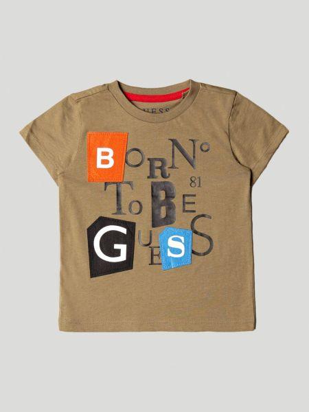 Imagen principal de producto de Camiseta Aplicaciones En Contraste - Guess