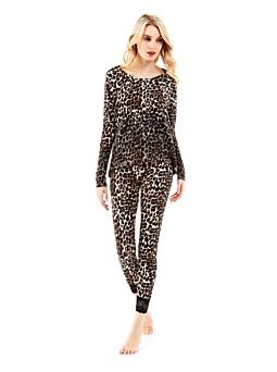 Pyjama Lost Vegas imprimé animalier