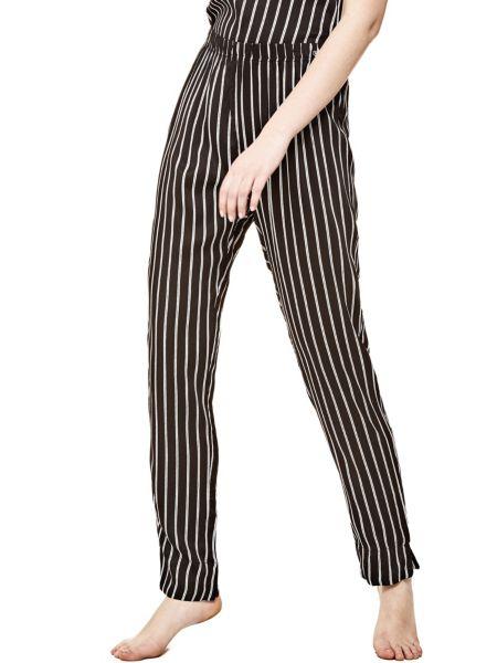 Pantalone Gessato Dream Noir