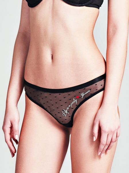 Guess - New YearS Eve Lace Brazilian Brief - 1