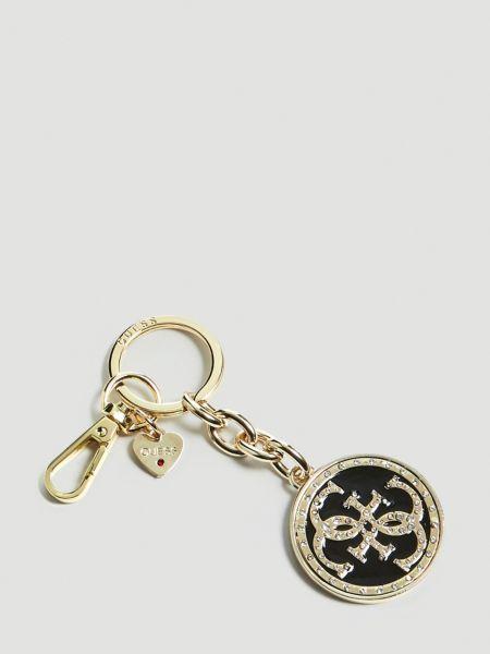 Schlüsselanhänger Charm Logo | Accessoires > Schlüsselanhänger | Schwarz | Guess