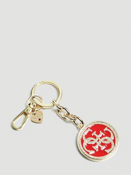 Schlüsselanhänger Charm Logo | Accessoires > Schlüsselanhänger | Rot | Guess