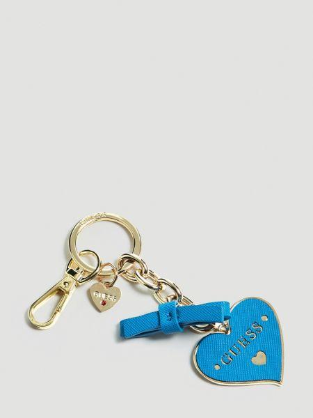 Schlüsselanhänger Charm Herz | Accessoires > Schlüsselanhänger | Blau | Guess