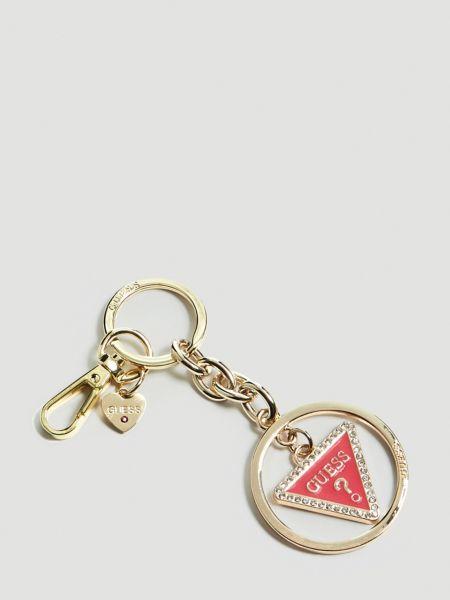 Schlüsselanhänger Charm Logo | Accessoires > Schlüsselanhänger | Fuchsia | Guess