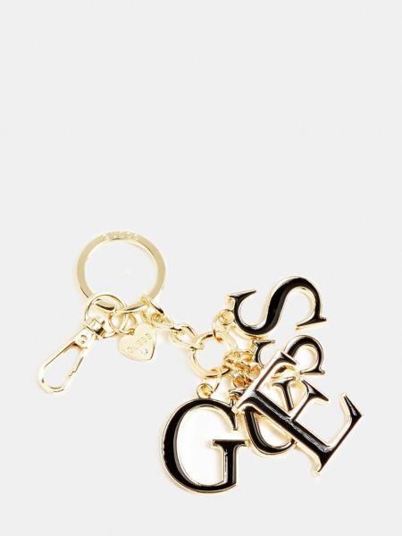 Schlüsselanhänger Logo | Accessoires > Schlüsselanhänger | Schwarz | Guess