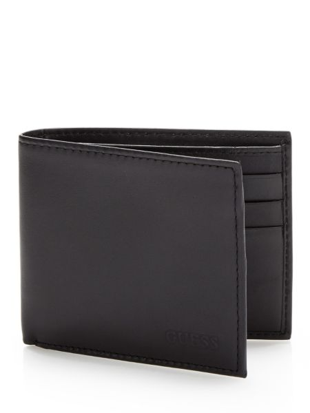 Portefeuille black basic