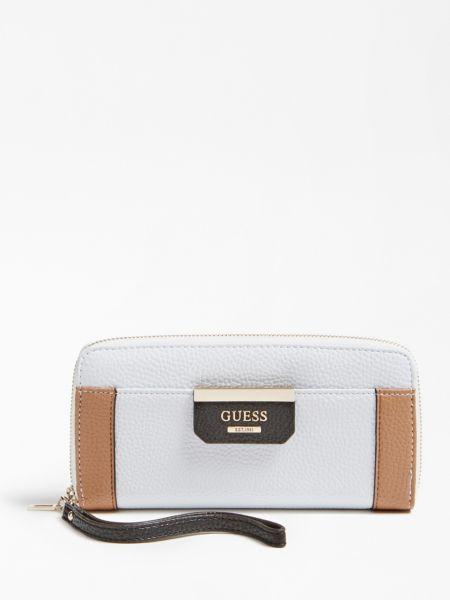 Portemonnaie Bobbi   Accessoires > Portemonnaies > Sonstige Portemonnaies   Weiß   Metall   Guess