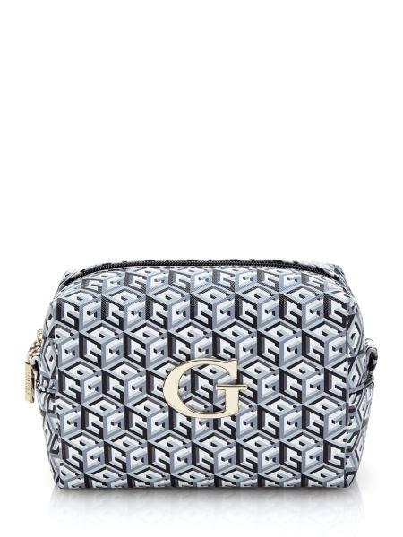 Porte cosmétiques g cube motif logo
