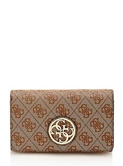 Portefeuille à rabat Katlin avec logo