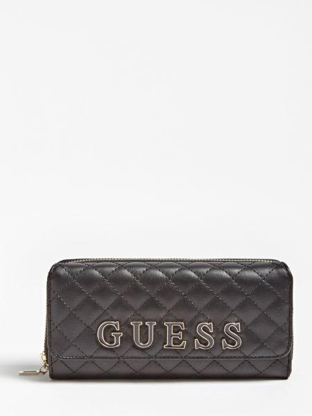 Clutch Guess Passion Steppoptik   Taschen > Handtaschen > Clutches   Schwarz   Baumwolle   Guess