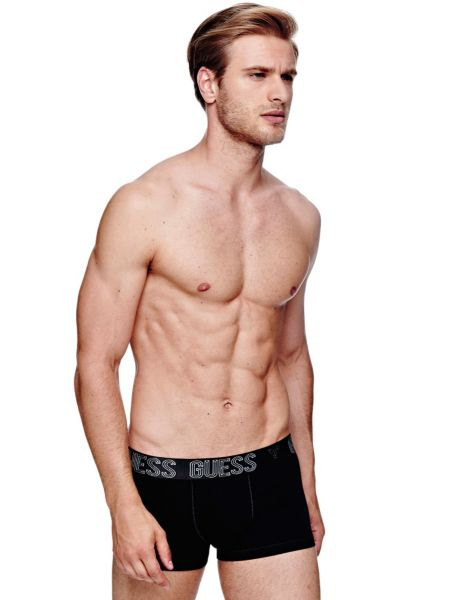 Image of Guess Black Diamond Boxer