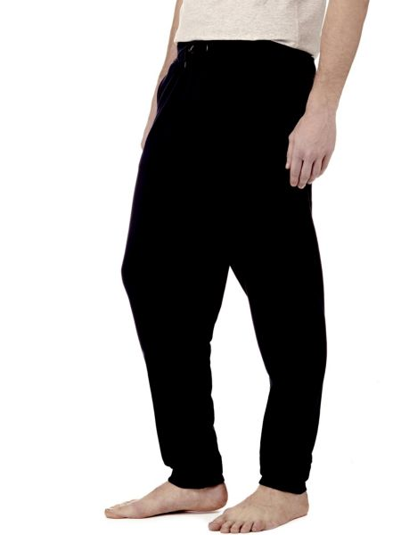 Pantalone In Felpa Di Misto Cotone Coulisse.