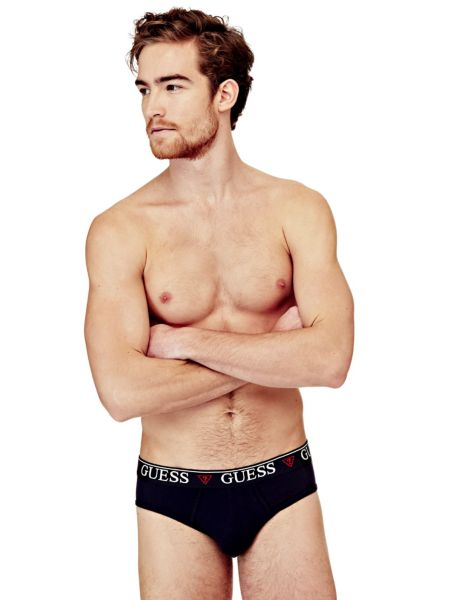 Slip Hero In Cotone Stretch Logo