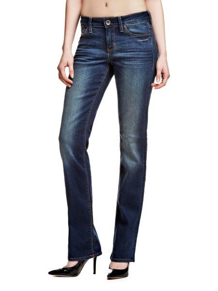 Jeans A Sigaretta Leggero Effetto Used
