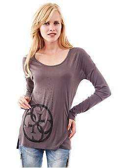 T-Shirt Viscose Avec Logo 4G