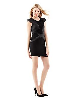 Synthetic insert dress
