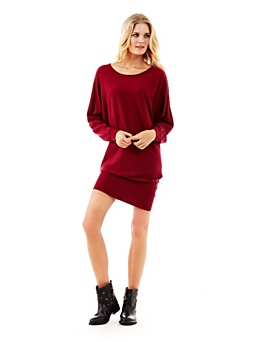Wool and viscose comfort dress