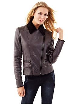 Geometric pattern jacket