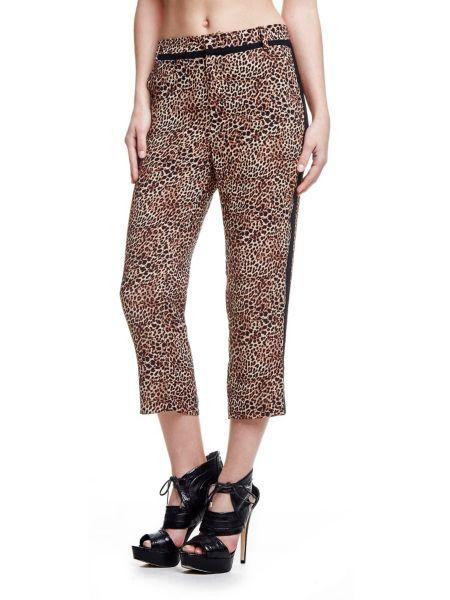 Pantalon motif animalier