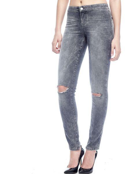 Fuseau en jean dechire