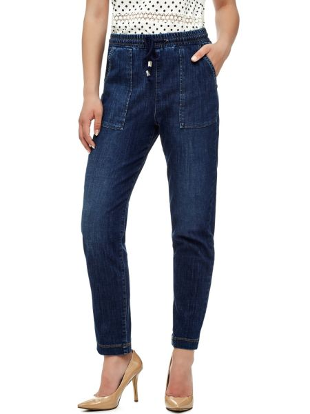 Jeans Comfort Con Coulisse