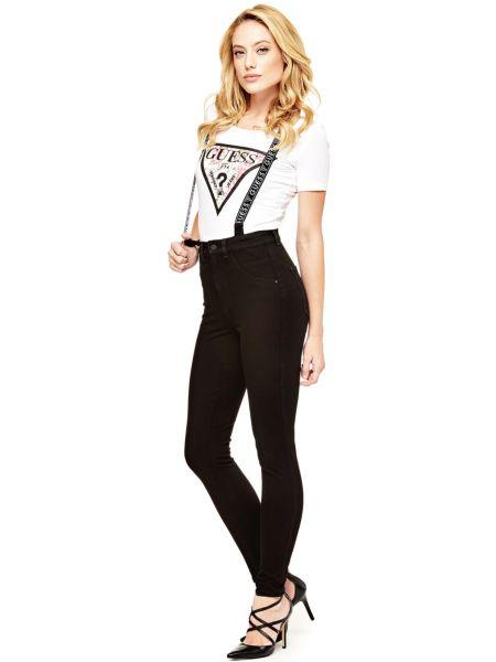 Pantaloni Con Bretelle Logo