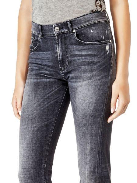 Jeans Slim Fondo Svasato