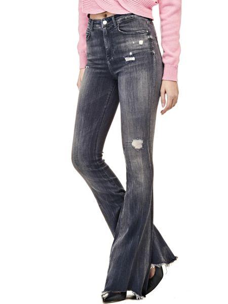 Jeans A Zampa Vita Alta
