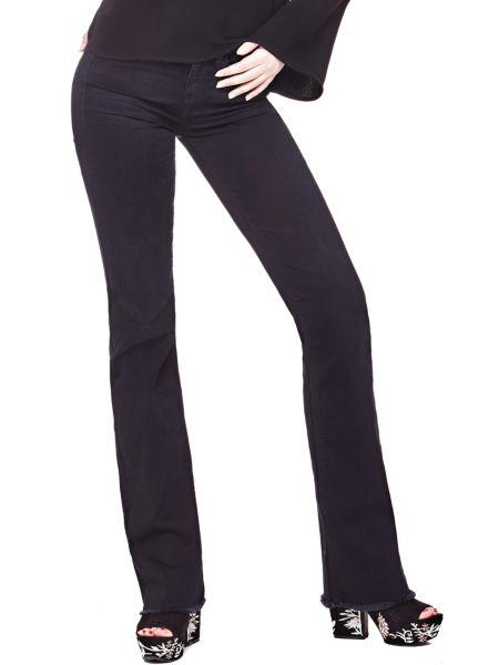 Jeans A Zampa Fondo Sfrangiato