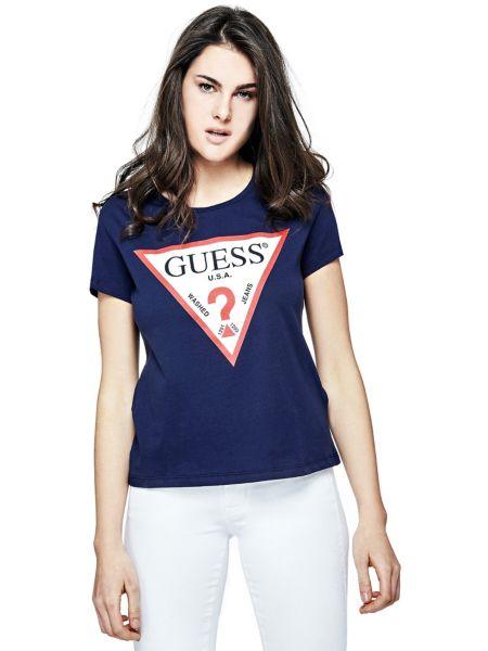 Imagen principal de producto de Camiseta Estampada Con Logo - Guess