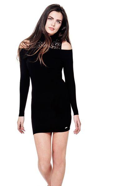 Kleid Offene Schultern Spitze - Guess