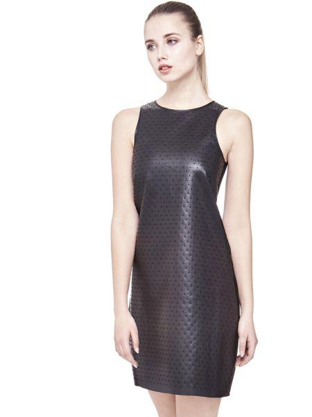 Kleid Beschichtete Optik Nieten - Guess