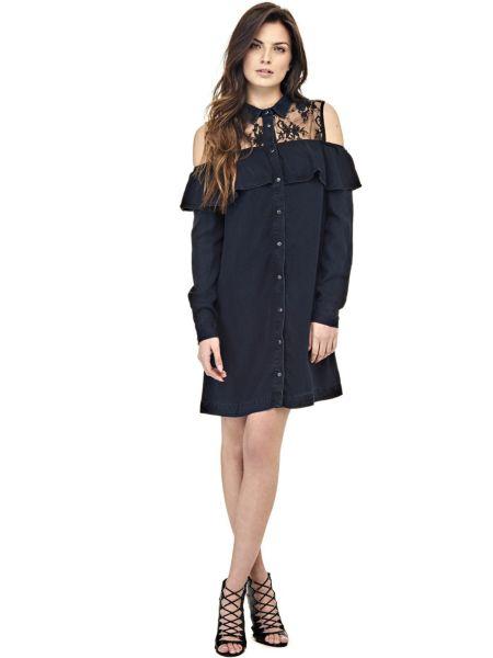 Kleid Schulterfrei - Guess