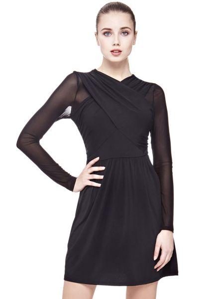 Kleid Überkreuzter Ausschnitt - Guess