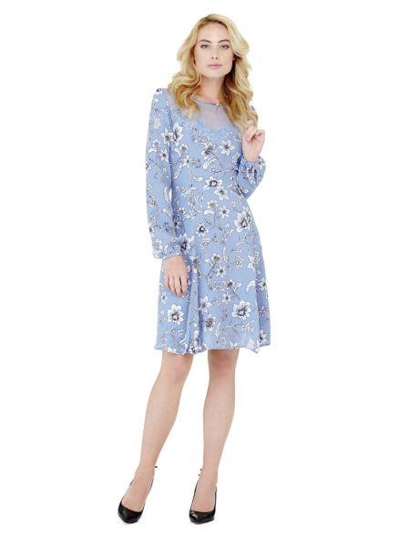 Kleid Ausschnitt Stern-Applikationen - Guess