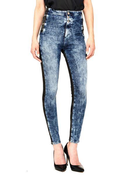 Jeans Contrasto Colore