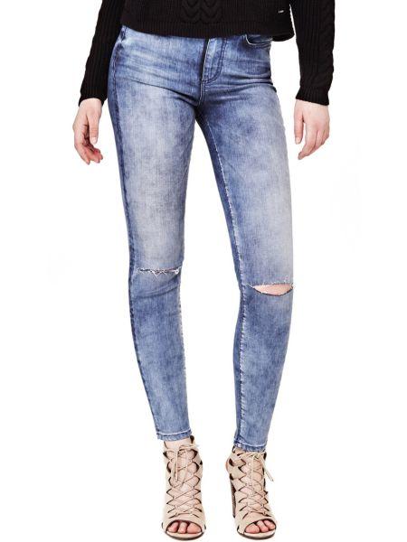 Jeans Dettagli Strappi