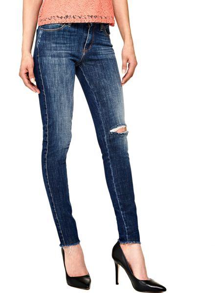 Jeans Skinny Strappo