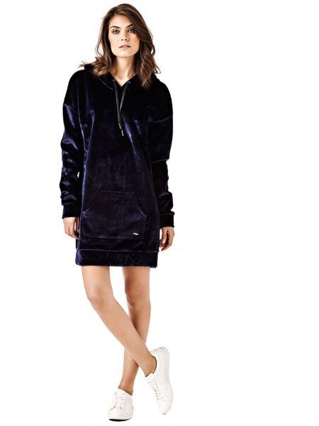 Imagen principal de producto de Vestido Felpa Terciopelo - Guess